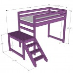 loft bed woodworking plans 2